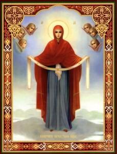 Икона Покров Божией Матери