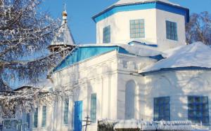 Покровская церковь зимой