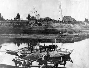 Старая фотография Покровского храма